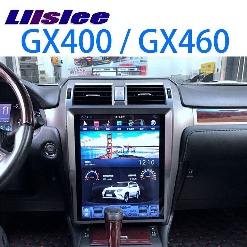 LiisLee Car Multimedia DVD GPS Hi-Fi Audio Stereo Radio Per Lexus GX J150 GX400 GX460 2009 ~ 2018 Stile Originale di navigazione NAVI
