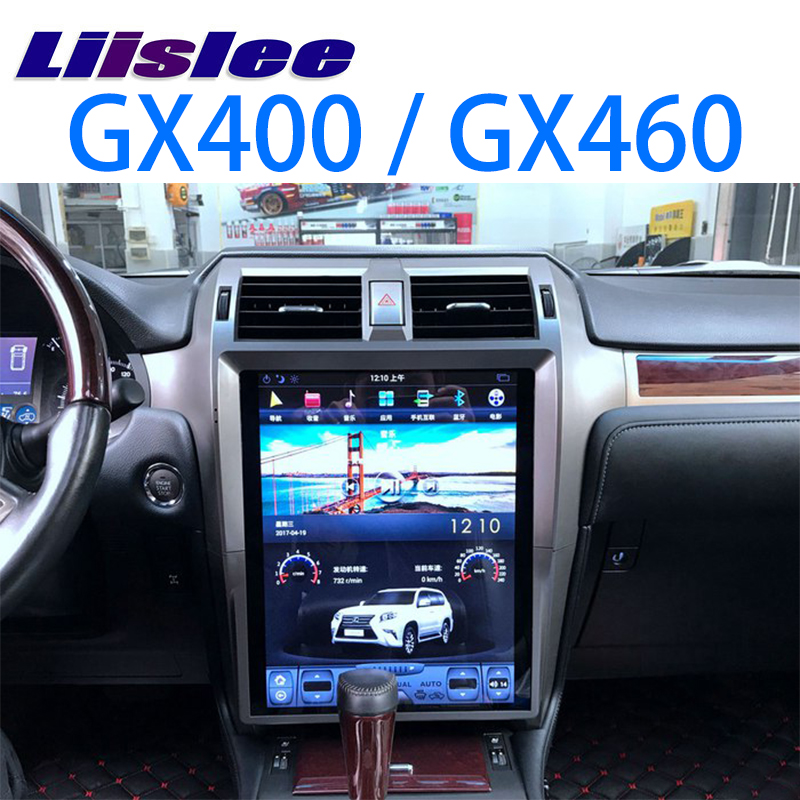 LiisLee Voiture Multimédia DVD GPS Salut-fi Audio Radio Stéréo Pour Lexus GX J150 GX400 GX460 2009 ~ 2018 Original Style navigation NAVI