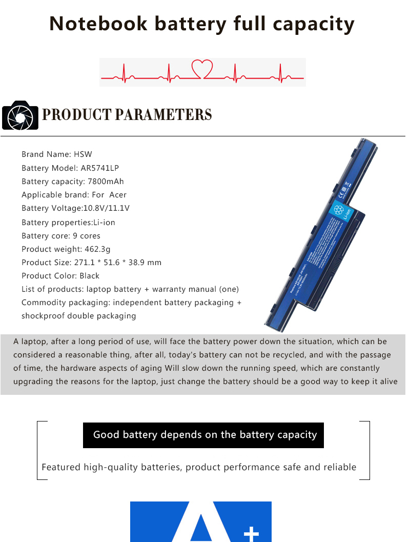 HSW 9 ячеек ноутбук Батарея для acer Aspire 4741 4741 г 7741 AS10D31 AS10D3E AS10D41 AS10D51 AS10D61 AS10D71 5750 AS10d75 Батарея