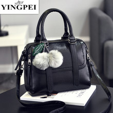 YINGPEI woman bags handbag PU Leather one shoulder cross-body messenger women's handbag mother bag Gifts Interior Compartment