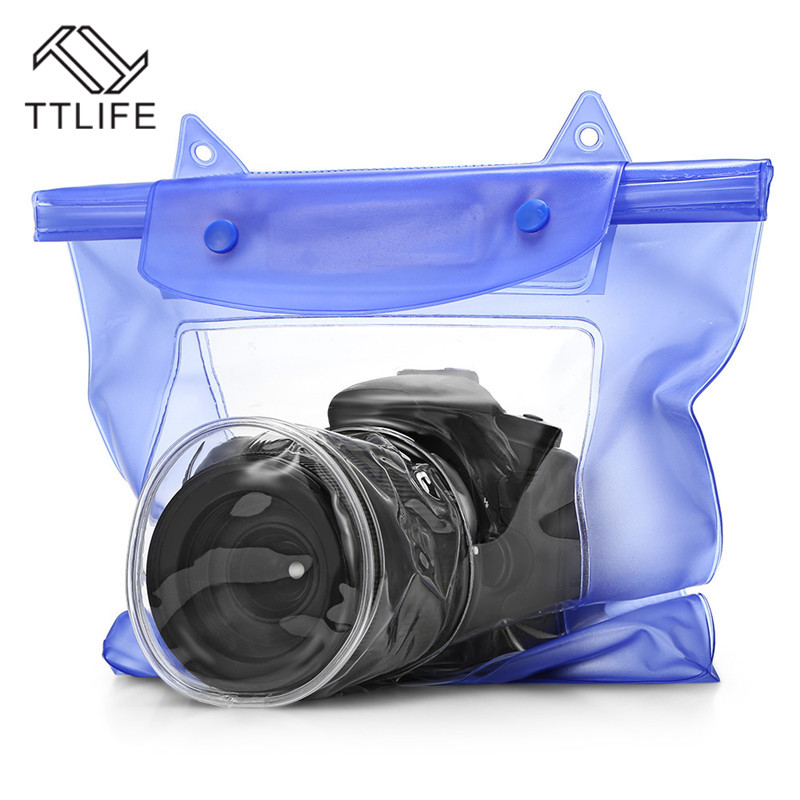 TTLIFE Portable Travel Accessories Beach Swimming Clear Dry Waterproof Bag Case Underwater Pouch Cover for Phone Camera