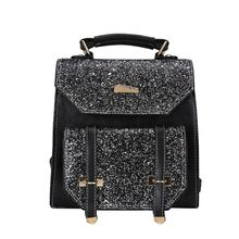 2019 Excellent Quality Fashion Girls Sequins PU Backpack Women Casual Daypack Travel Bag School