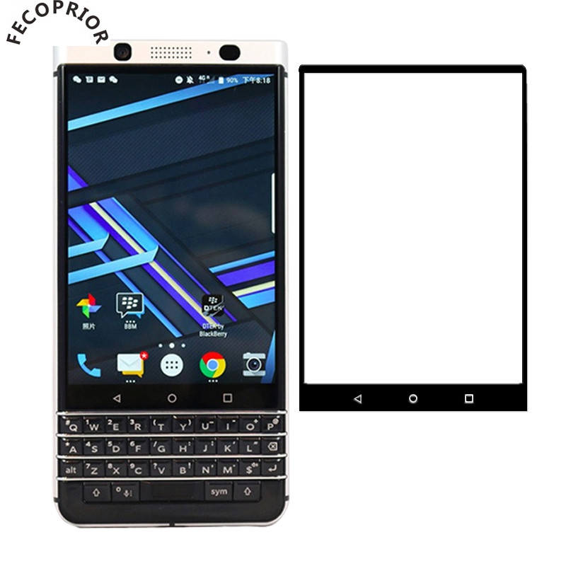 KeyOne Tempered Glass For BlackBerry Key2 Lite KEYone Key 2 Two Screen Protector Full Cover Edge Toughened Protective Glass Film(China)
