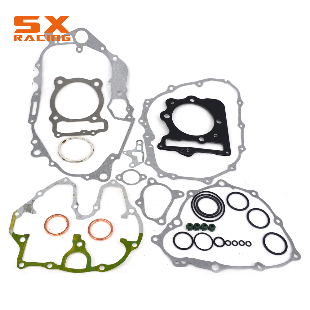 Motorcyle Engine Crankcase Paper Pad Overhaul Package Whole Motorbike Gasket Set For HONDA XR400 96 97 98 99 00 01 02 03 04