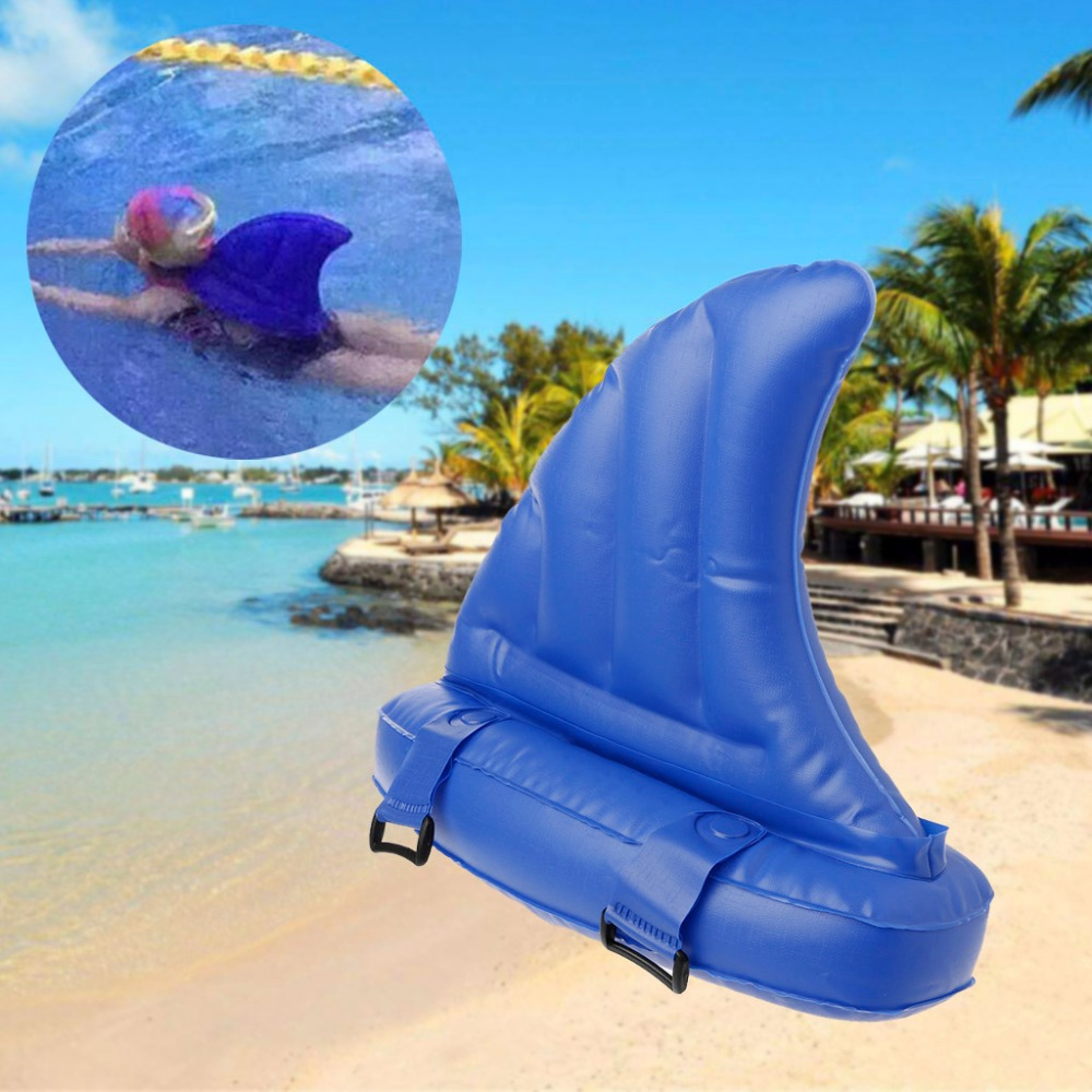 Kid s toy learning to swim artifact shark fins copycat inflatable children swimming pool life buoy floats