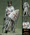 75mm scale historical figures the crusaders Resin Model Kit figure Free Shipping