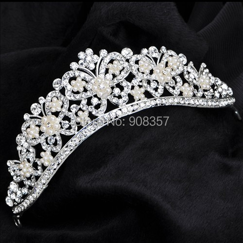 Austrian crystal tiara crown hair jewelry bridal wedding hair accessories jewelry for hair tiaras and crowns noiva 1024