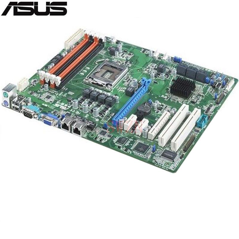 все цены на original Used Server motherboard For ASUS P8B-X Socket 1155 E3-1200/E3-1200 v2 I3 G8x0 G6x0 Maximum 4*DDR3 32GB 5xSATAII ATX