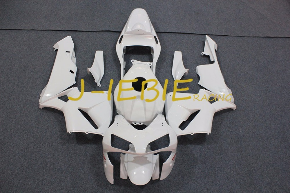 White Injection Fairing Body Work Frame Kit for HONDA CBR600RR CBR 600 CBR600 RR F5 2003 2004