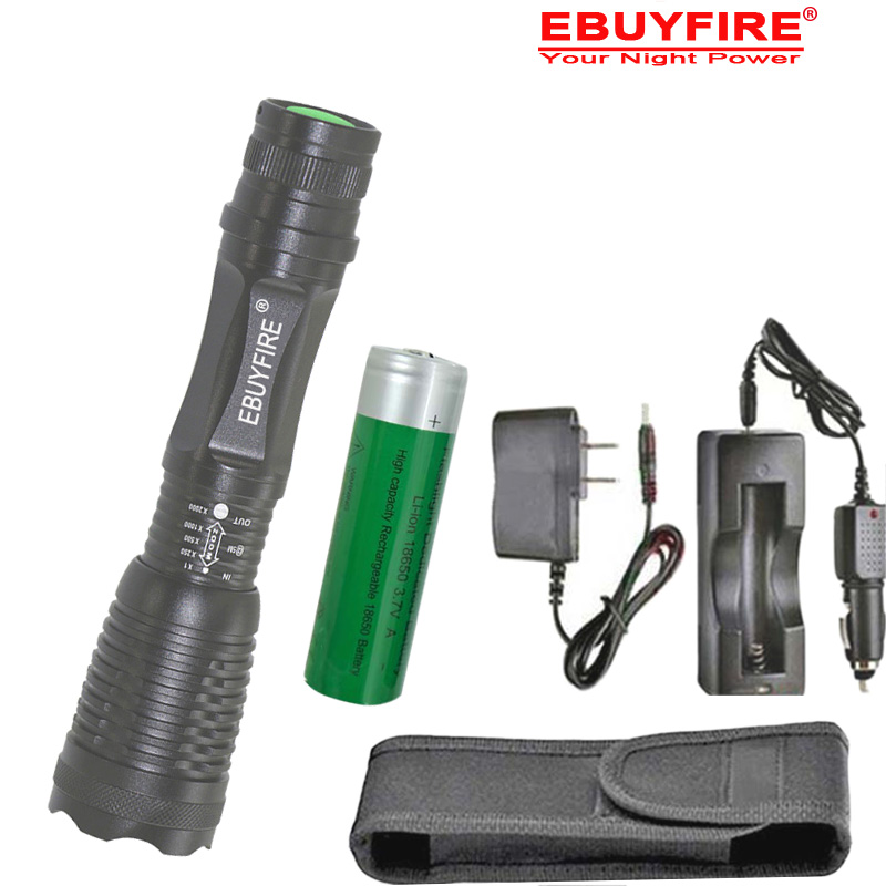 Zoom 18650 Flashlight XML-L2 Flash light Zoomable Torch 5 Modes by AAA battery 3.7v battery Car & AC charger holster cree xm l t6 bicycle light 6000lumens bike light 7modes torch zoomable led flashlight 18650 battery charger bicycle clip