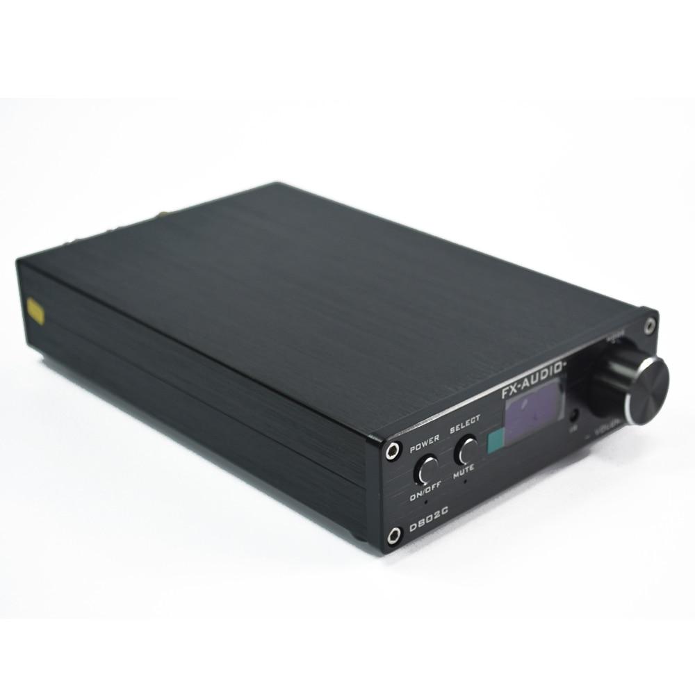 Fx audio D802C amplificateur Audio hifi mini amplificateur amplificateur numérique amplificateur audio-in Amplificateur from Electronique    3