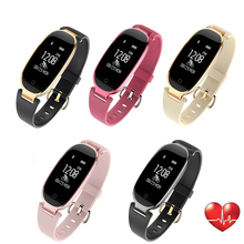 S3 Fashion Smart Watch Women Bluetooth Waterproof Wristband Heart Rate Monitor Fitness Tracker Smartwatch for Android IOS цена в Москве и Питере