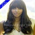 2016 афро-американцев 4 x 4 шелк лучших парики естественная волна Glueless шелковый фронта шнурка база девственница перуанский человеческие волосы