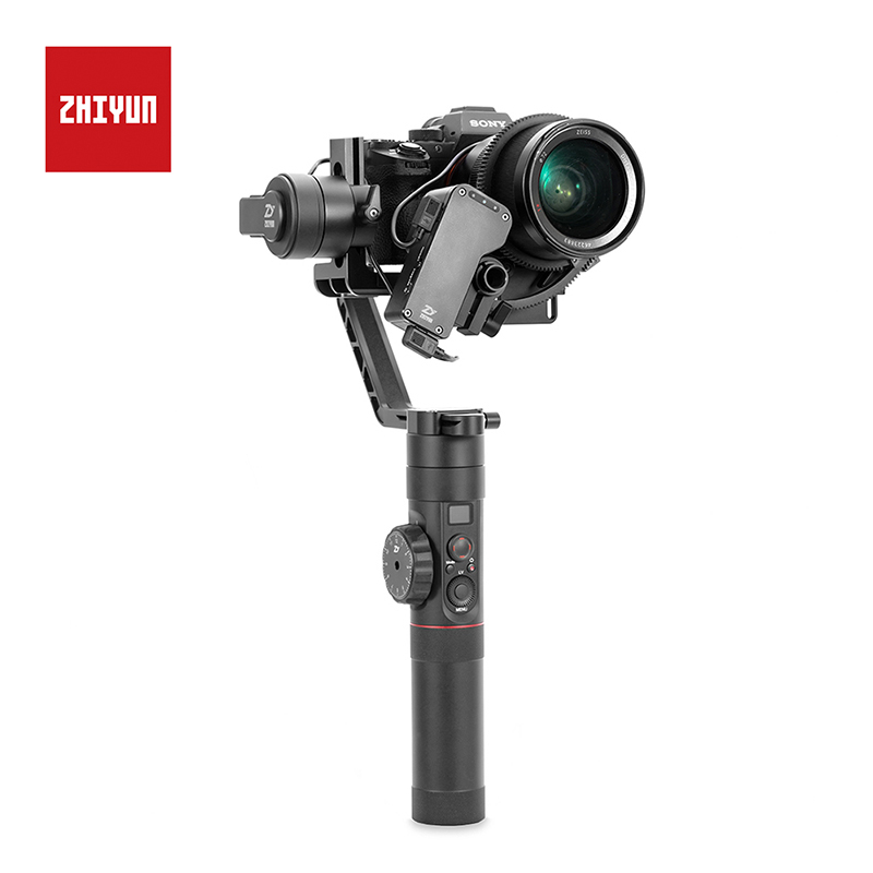 Zhiyun Crane 2 3-Axis Camera Stabilizer for All Models of DSLR Mirrorless Camera Canon 5D2/5D3/5D4 in Stcok Original zhiyun official crane 2 3 axis camera stabilizer with servo follow focus for all models of dslr mirrorless camera canon 5d2 3 4