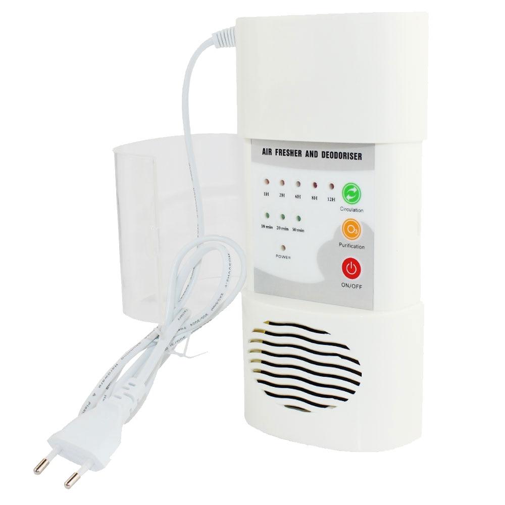 Ozon Generator Luft Reiniger Hause Luft Reiniger Deodorizer Sterilisation Keimtötende Elektrische Tragbare Sauerstoff Konzentrator Filter