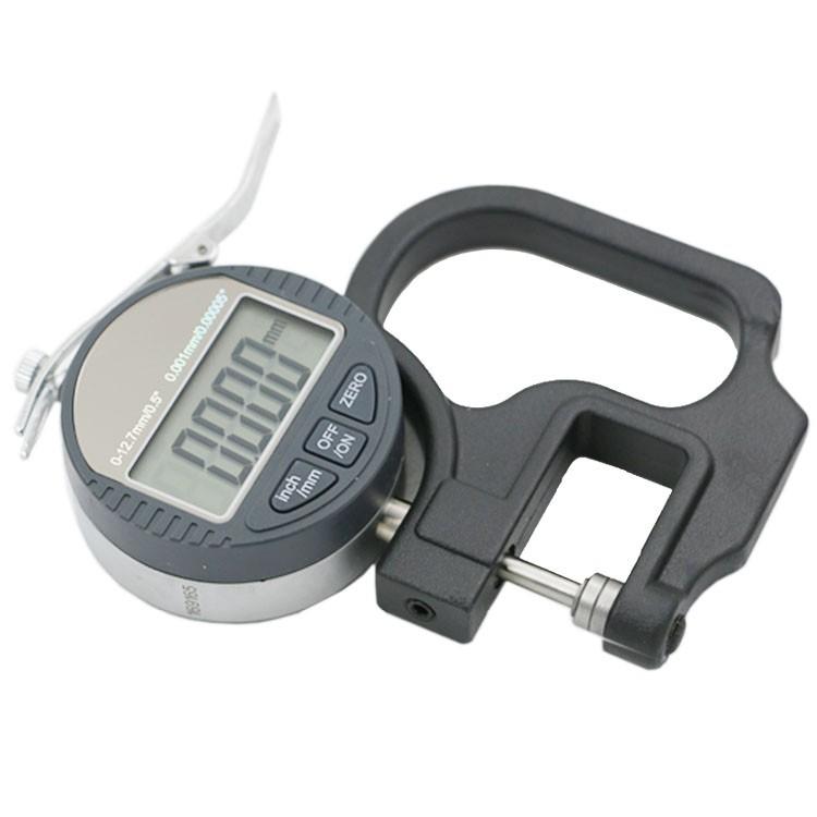 Купить 0.001 мм Электронный Толщиномер 10 мм Цифровой Микрометр Толщиномер Micrometro Толщина Тестер С RS232 Выходных Данных дешево
