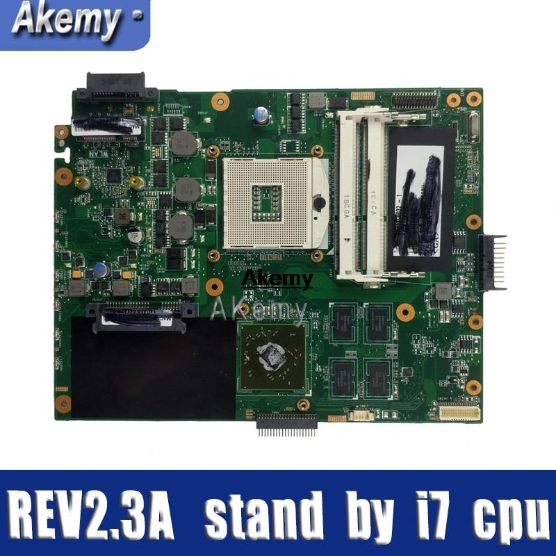K52JT K52JU Motherboard For ASUS K52JU K52J A52J K52JR K52 K52JE X52J Laptop Motherboard Mainboard REV2.3A HD6370 512M HM55