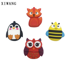 new usb flash drive cartoon pen creative cute fox/owl/bee pendrive 4GB 8GB 16GB 32GB animal penguin memory stick gift