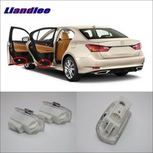 Liandlee Car Door Ghost Shadow Lights For Lexus GS300 2014~2016 Courtesy Doors Lamp / Brand Logo LED Projector Welcome Light liandlee car door ghost shadow lights for acura mdx acura zdx courtesy doors lamp brand logo led projector welcome light