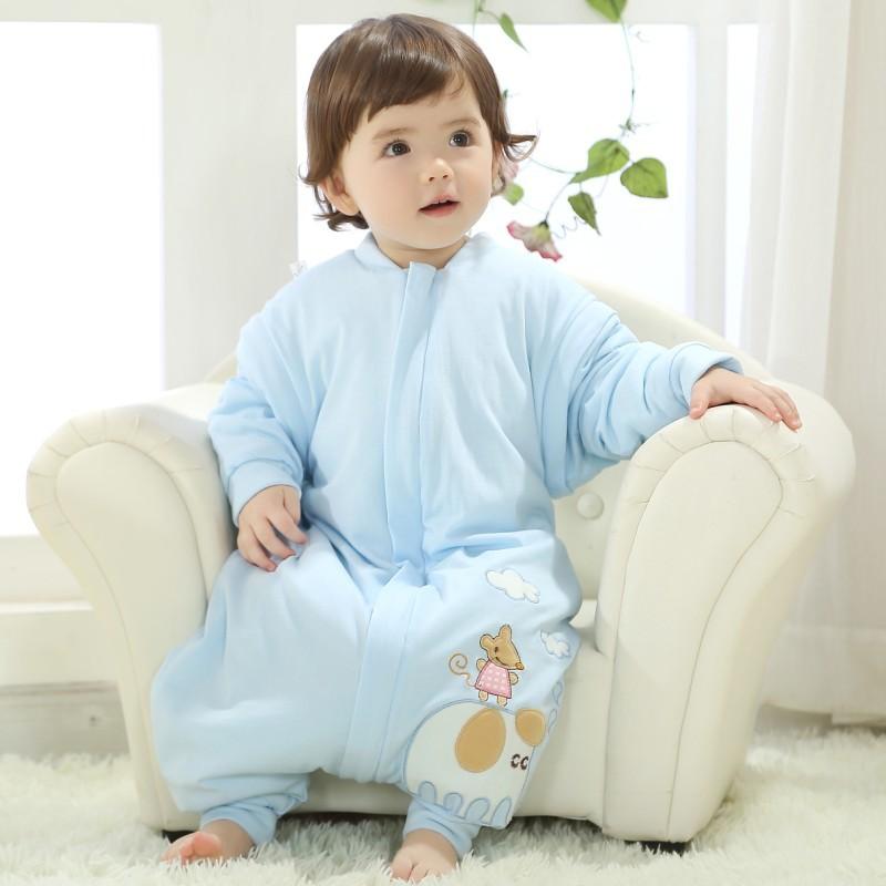 Baby Sleeping Bag Winter Envelope For Newborns Sleep Thermal Sack Cotton Kids Sleeping Bag 0-4T