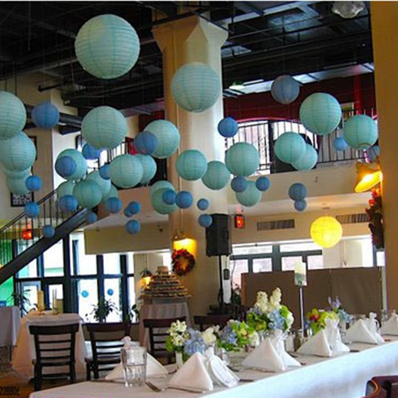 Wedding Decorations Blue And Brown Tiffany Chocolate
