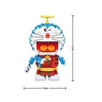 2016 New Arrivals LOZ 1709 Ancient Version Doraemon Mini Building Blocks Model Toys DIY Assembled Children Educational Toys Gift