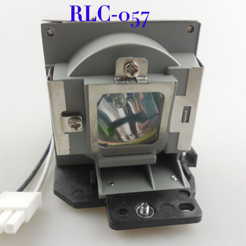 Free Shipping Compatible Projector Lamp With Housing RLC-057 for PJD7382/PJD7383/PJD7383i/PJD7583W Projector free shipping compatible projector lamp with housing r9832752 for barco rlm w8