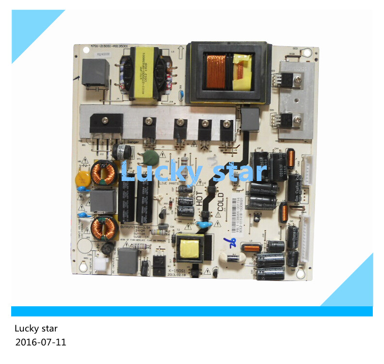 Original used 42PFL3040/T3 K-150S1 power supply board 4701-2150S1-A9135D01 7 42 17s2203070 n28125 used disassemble