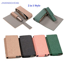 JINXINGCHENG Cloth Case for Iqos 3 Protective Shell 3.0 2 in 1 Pouch Accessories