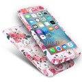 Case para iphone 6 6 s híbrido 360 case vidrio templado a prueba de golpes para apple iphone 5s 7 6 s plus case para iphone 7