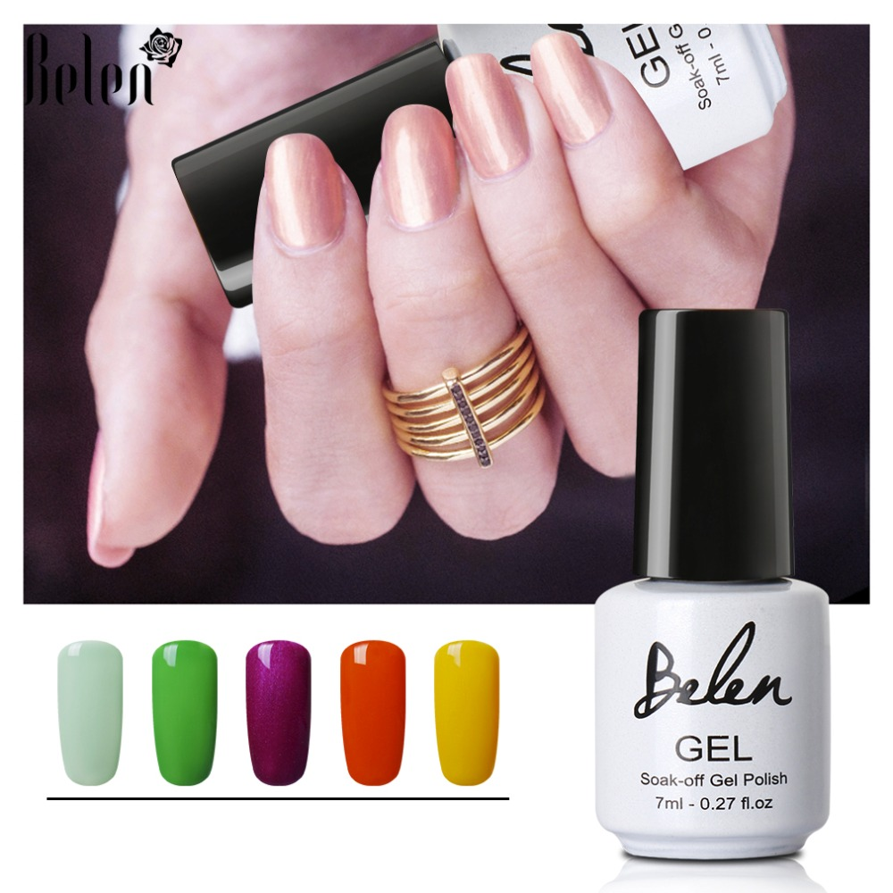 Belen 79 Pure Colors UV-nagellak Polish Soak Off Langdurige - Nagel kunst