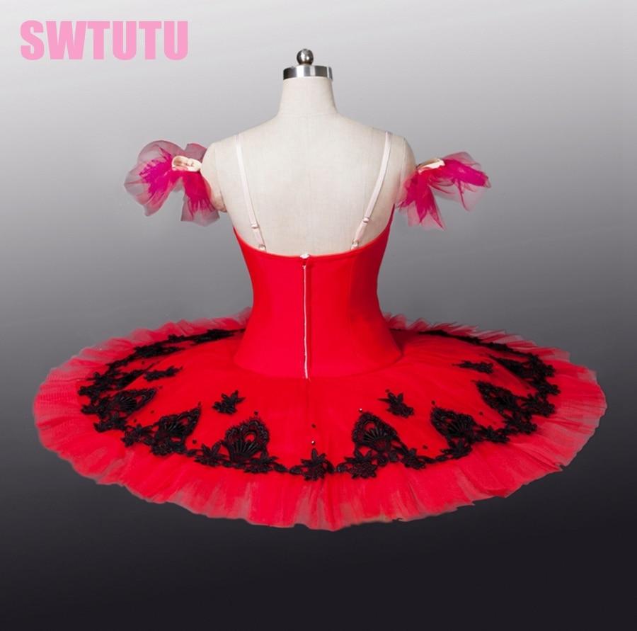Picture of Adult Don Quixote Red\/Black Professional Tutus Women Black Swan Lake Ballet Tutu White Swan Lake Ballet Tutubt8934