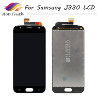 50Pcs Super AMOLED Screen For Samsung Galaxy J3 2017 LCD J330 J330F J330G Display Touch Screen Digitizer Assembly 100% Tested