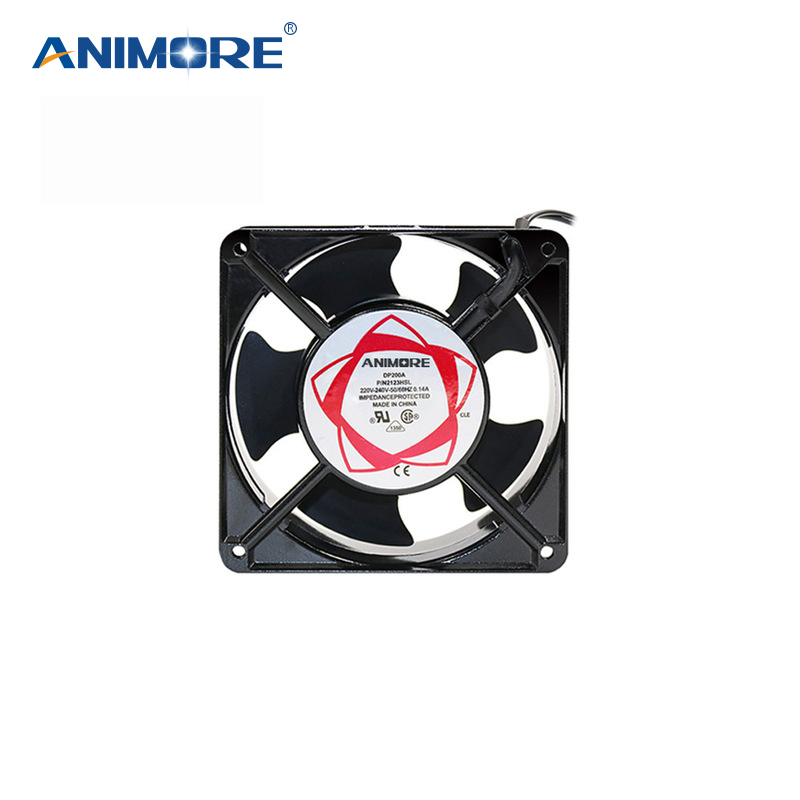 ANIMORE ventilador bajo ruido ventiladores axiales de 220 V 120X120mm X 38mm, ventilador de enfriamiento de uso para ozonizador accesorios de soldadura de estaño ventilador de escape