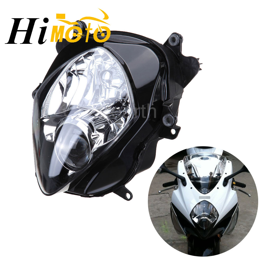 Motorcycle Front Headlight Head Light Lamp For <font><b>Suzuki</b></font> <font><b>GSXR1000</b></font> GSX-R1000 2007 2008 K7 <font><b>K8</b></font> Motorbike Headlamp Assembly <font><b>Kit</b></font> image