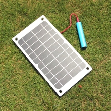 BUHESHUI 7.5W Portable Solar Charger For Mobile Phone Mono Solar Panel USB Battery Charger High Quality Free Shipping