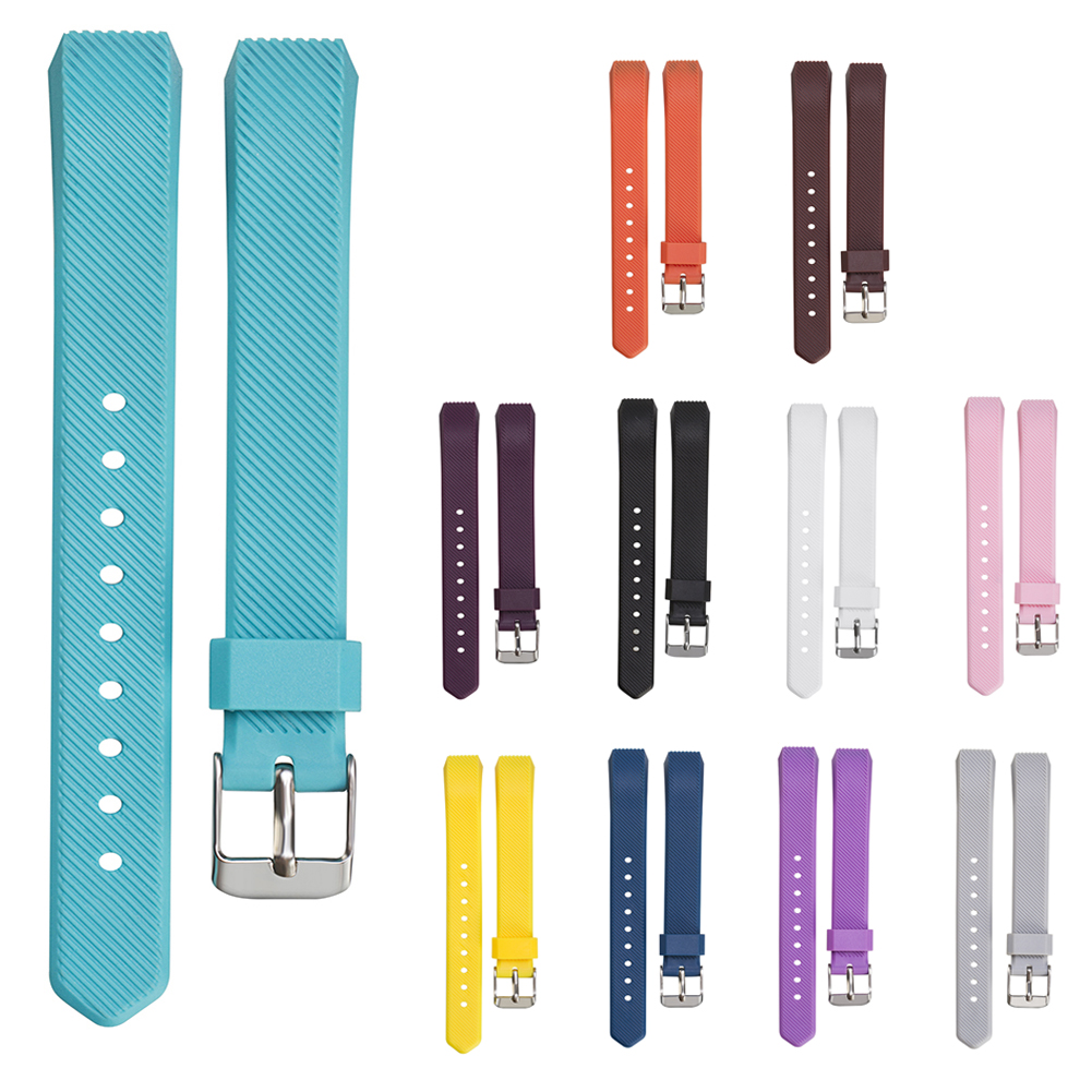 150-220mm Luxury Silicone Watchband High Quality Replacement Wrist Band Silicone Strap Clasp For Fitbit Alta Twill Strap lnop nylon rope survival strap for fitbit alta alta hr replacement band bracelet wristband watchband strap for fitbit alta