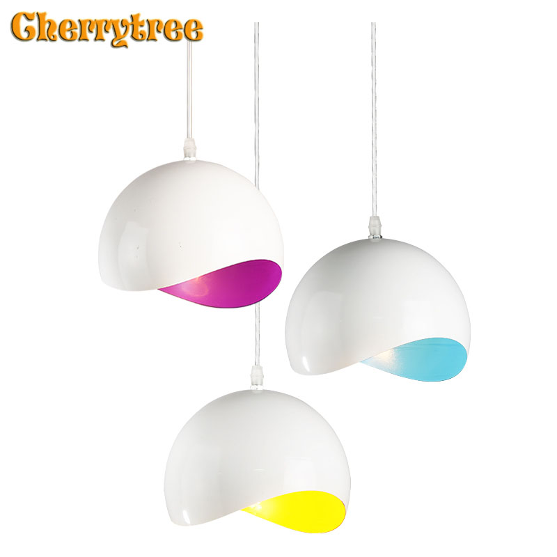 Modern Pendant lights Nordic lamp hanging loft design dining room living room rope kitchen hotel lamp light fixture lamp shade