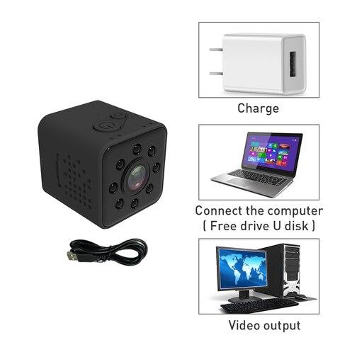SQ23 Mini Camera Wifi Full HD 1080P Wide Angle Micro Camera Wifi Waterproof Night Vision Mini Camcorders Video Recorder Pk SQ13  Multan