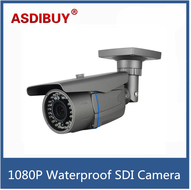 Varifocal lens HD SDI camera 1080P 1/2.8 Sony Sensor SDI digital security camera Indoor outdoor SDI 72IR Led bullet cctv cam hd sdi miniature headset bullet camera 1920x1080 30fps