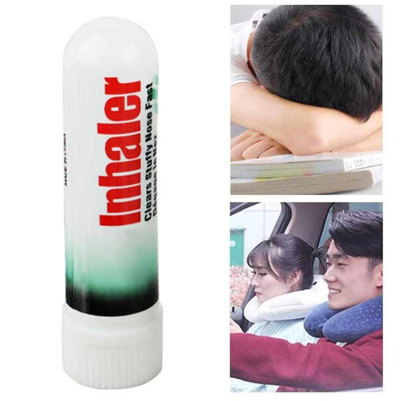 1PC Nasal Inhaler Better Breathe Fast Relief From Nasal Congestion Colds / Hay Fever Allergies / Sinusitis