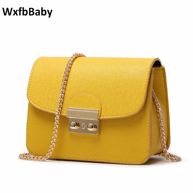 dfbc3b38b3a498 WxfbBaby brand New European American fashion Women handbags mini messenger  bags Vogue magnetic buckle female shoulder bag girl