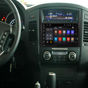 """9""""Android 9.0 4G+32G 8Core 2Din Steering-Wheel For MITSUBISHI PAJERO V97 Car Multimedia Player Fast Boot GPS+Glonass"""