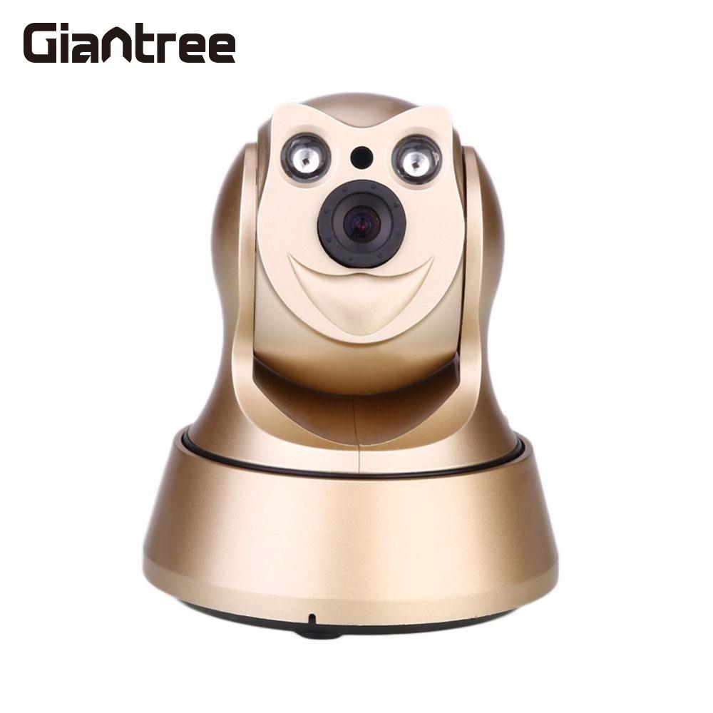giantree HD Wireless Security IP CameraWi-fi R-Cut Night Vision Baby Monitor Surveillance Camera Network IP Motion Dection Home giantree recorder hd ip camera 360 degrees baby monitor wireless network camera night vision audio video home surveillance
