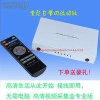 Reproducción 1080 p HD juego HDMI de grabación de vídeo endoscopio Médico caja de tarjeta de adquisición de vídeo Codificado