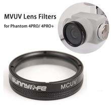 Sunnylife Lens Filters MCUV Filter suitable for DJI Phantom 4 PRO/ 4PRO+