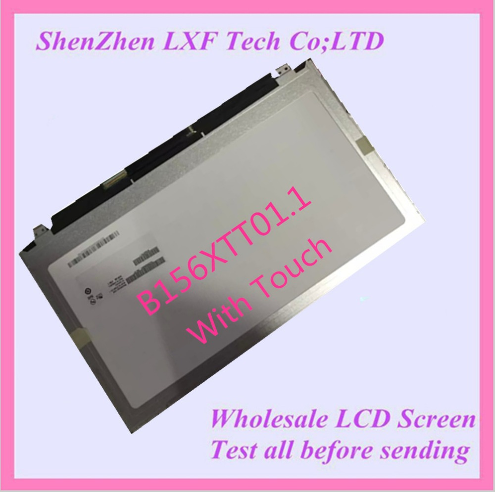 15.6'' B156XTT01.1 LTN156AT36-D01 For Dell Inspiron 3000 Series 15-3541 3542  5547 5548 Laptop LCD Screen Touch Display