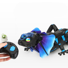 Joke toy Remote control animal LED light RC I/R Lizard Cabri