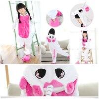 Christmas Baby Boys Girls Tigger Cat Children Pajamas Flannel Stitch Animal Pajamas Kid Pajama Sets Onesies