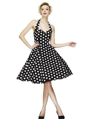 Online Get Cheap Black and White Polka Dot Pinup Dress -Aliexpress ...